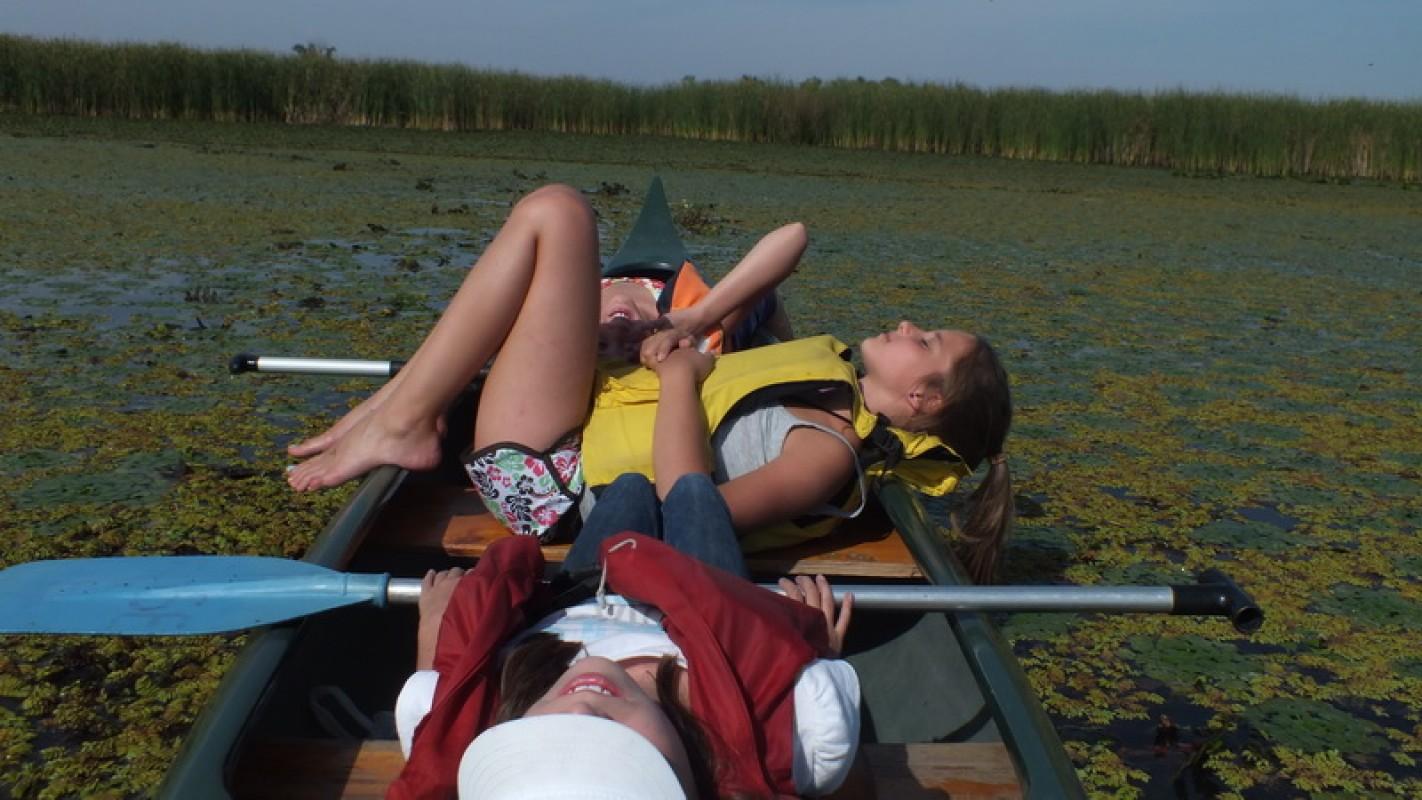 Osztálykirándulás a Tisza-tavon