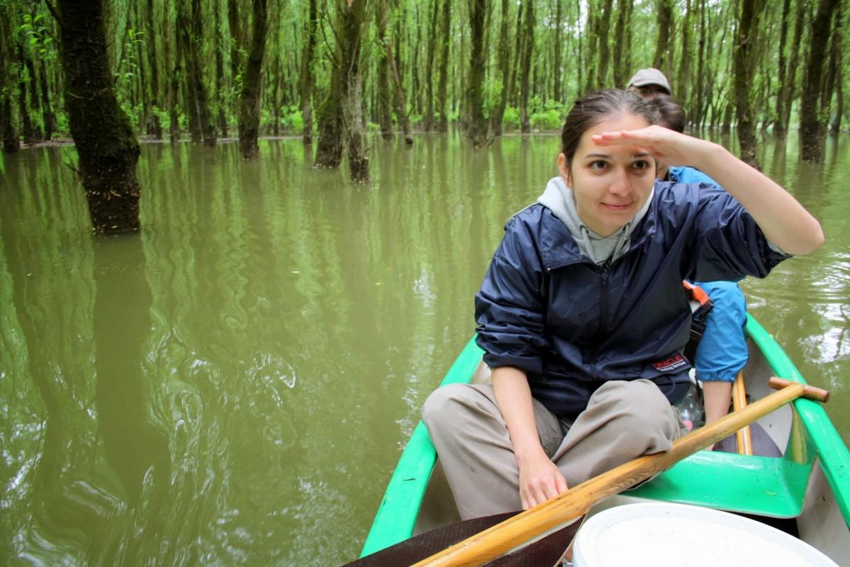 Osztálykirándulás a Gemenci Erdőben