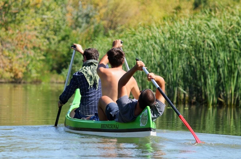 Csapatépítés a Tisza-tavon