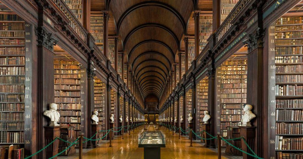 Trinity College - könyvtár