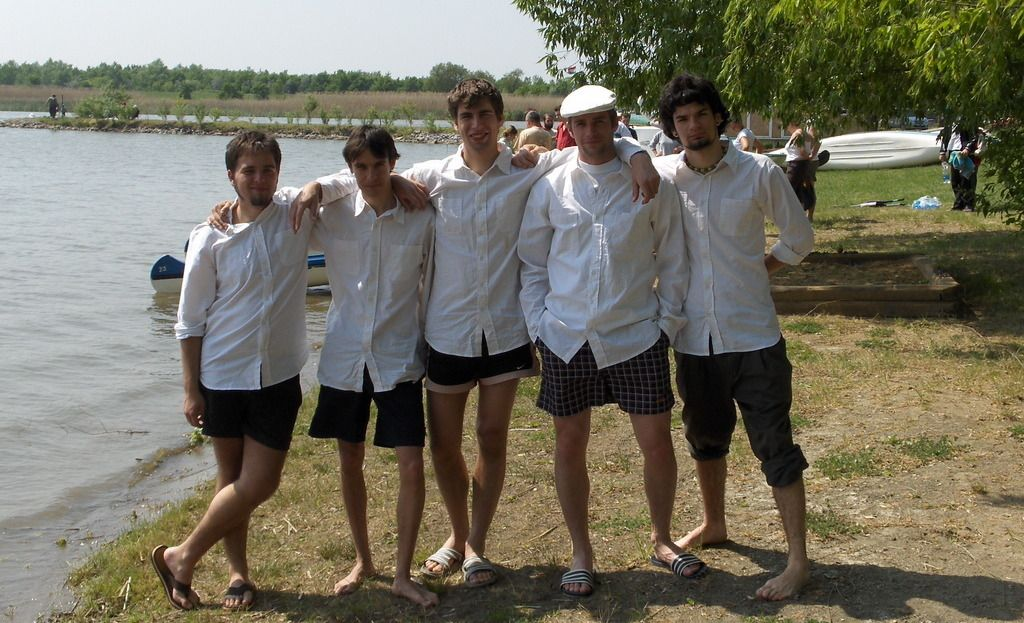 A túravezető csapat 2009-ben